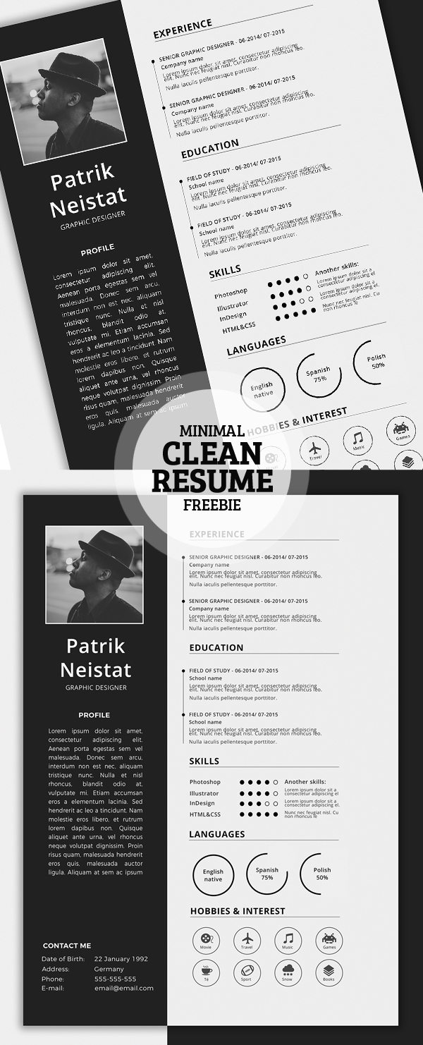 free creative cv templates word