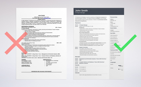 contemporary resume design - Onwebioinnovate - resume design