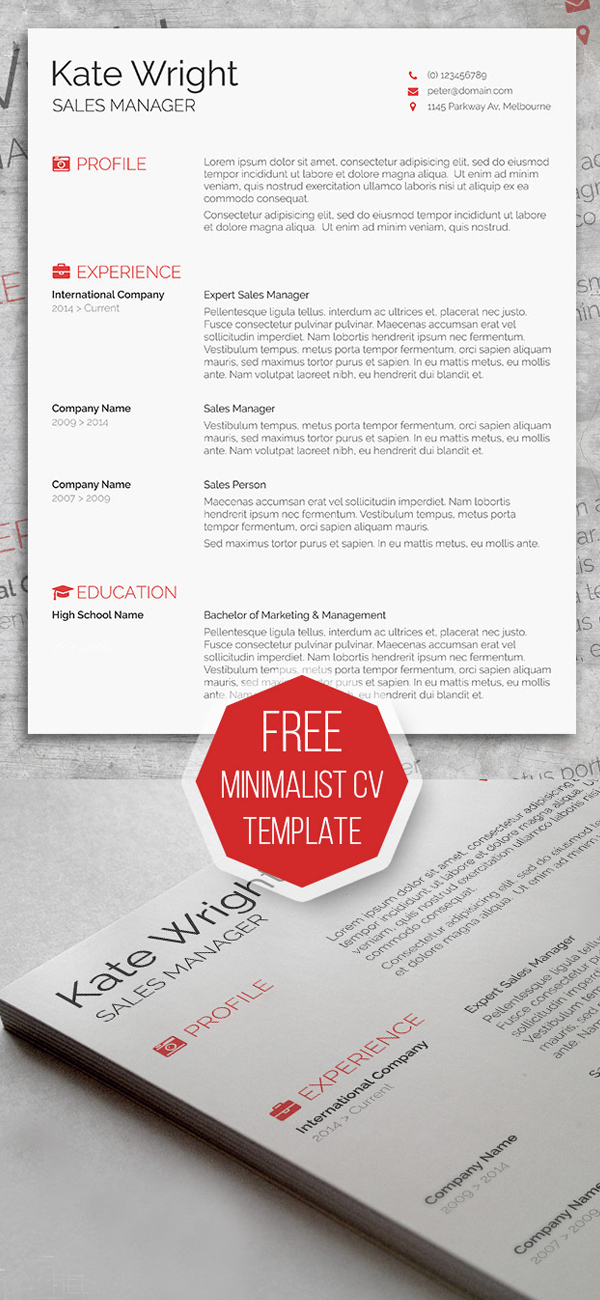 Free Resume Templates for 2017 Freebies Graphic Design Junction - free cool resume templates
