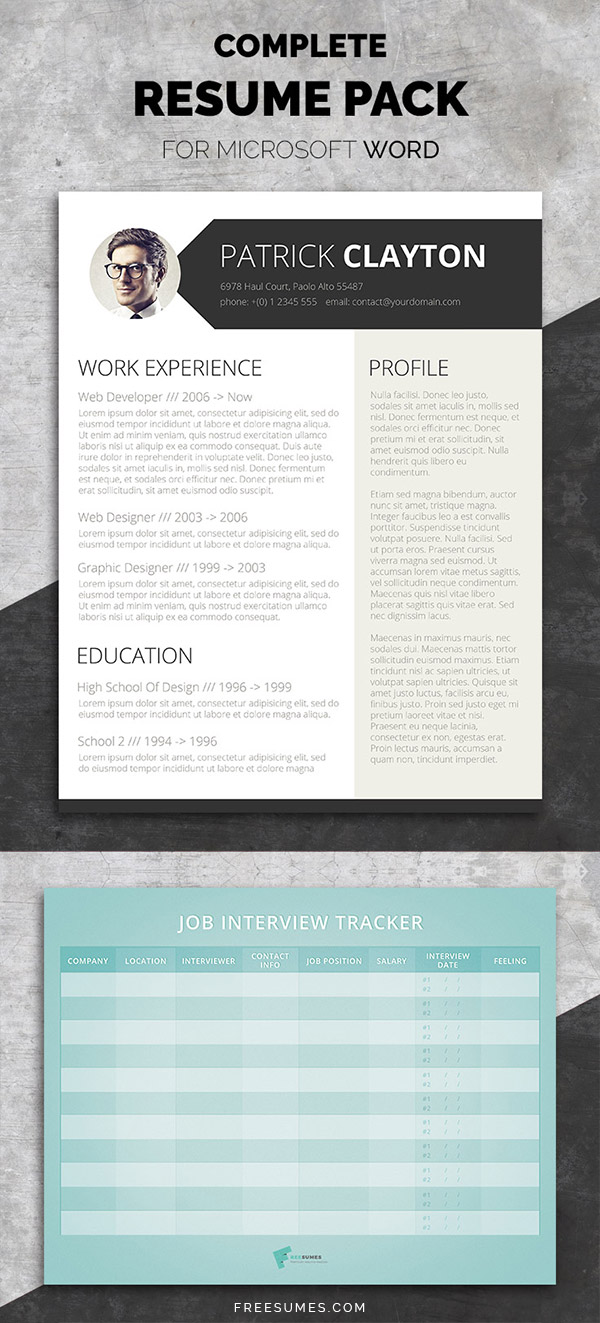 complete cv template