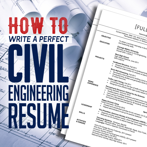 How to Write a Perfect Civil Engineering Resume Articles Graphic