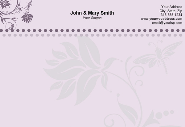 Free Personal Letterhead Templates for Events Resources Graphic