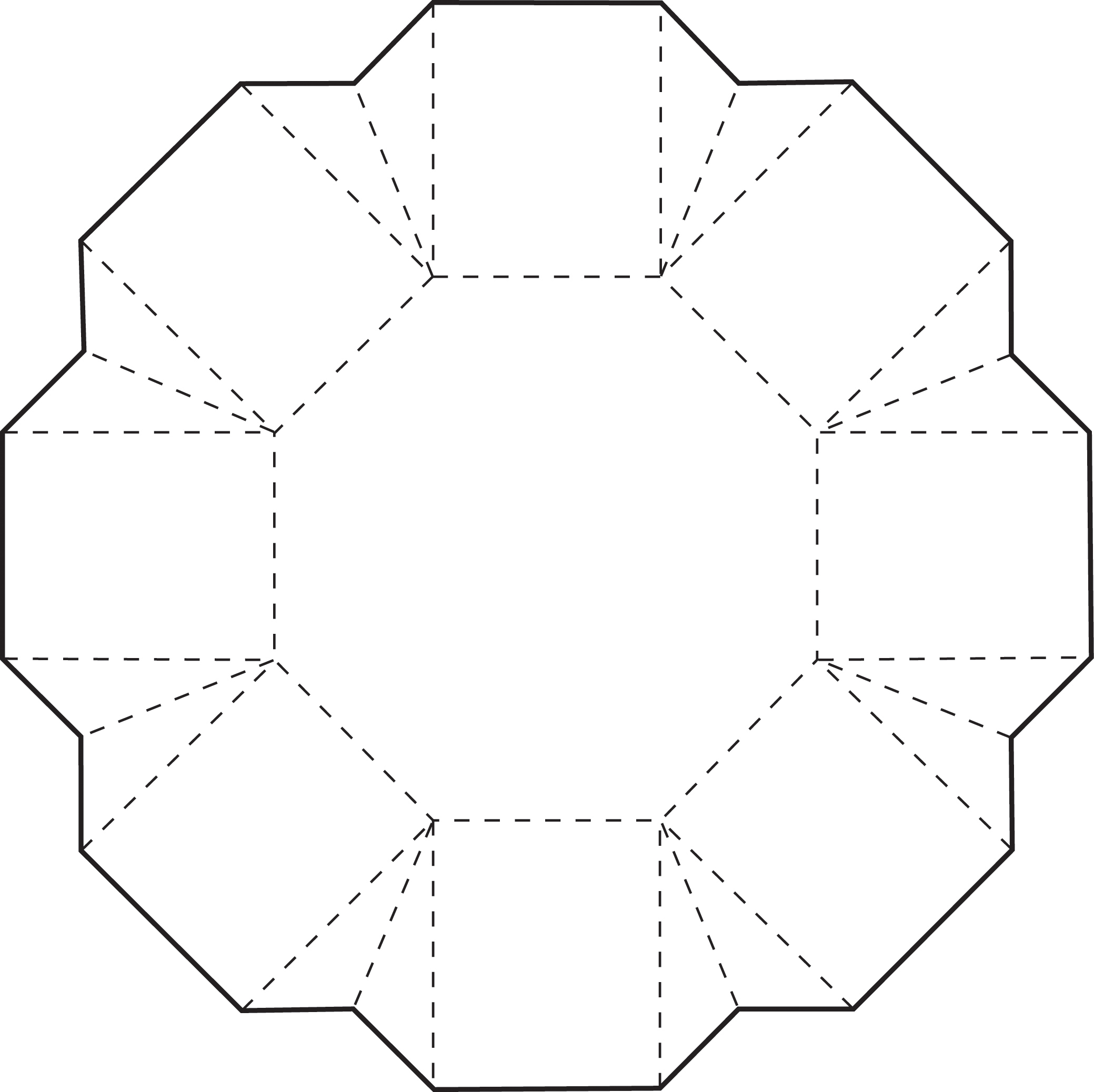 5 inch hexagon template virtren com