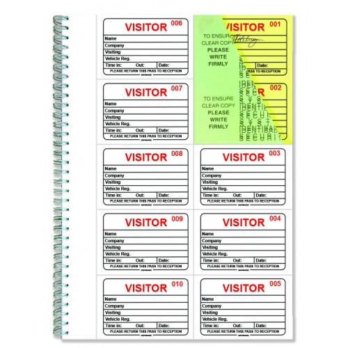 Buy this Identibadge System Visitors Book Refill IBRSYS300 (Pack of
