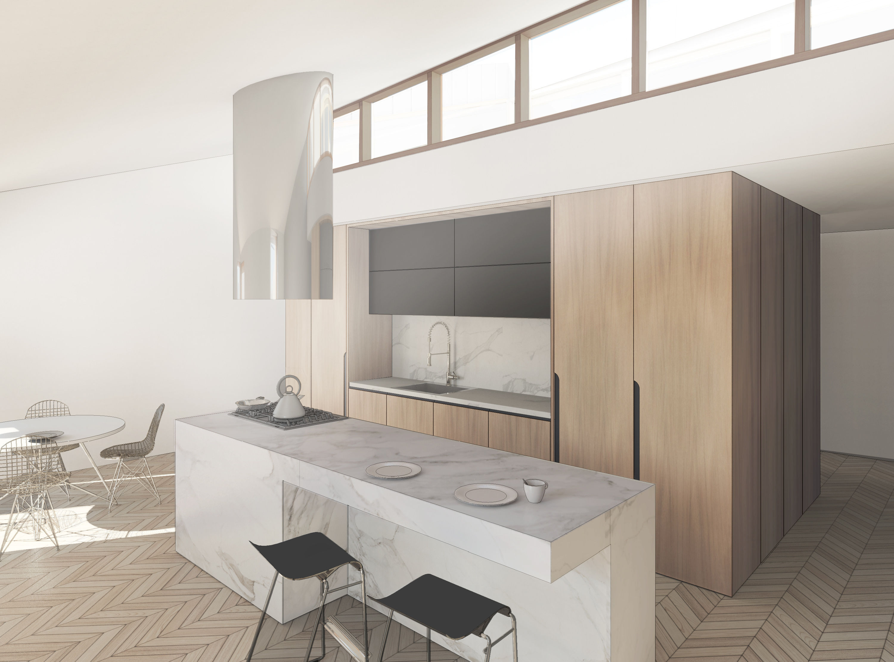 Kitchen Design Za Kitchen Design With Marble Island Autodesk Online Gallery