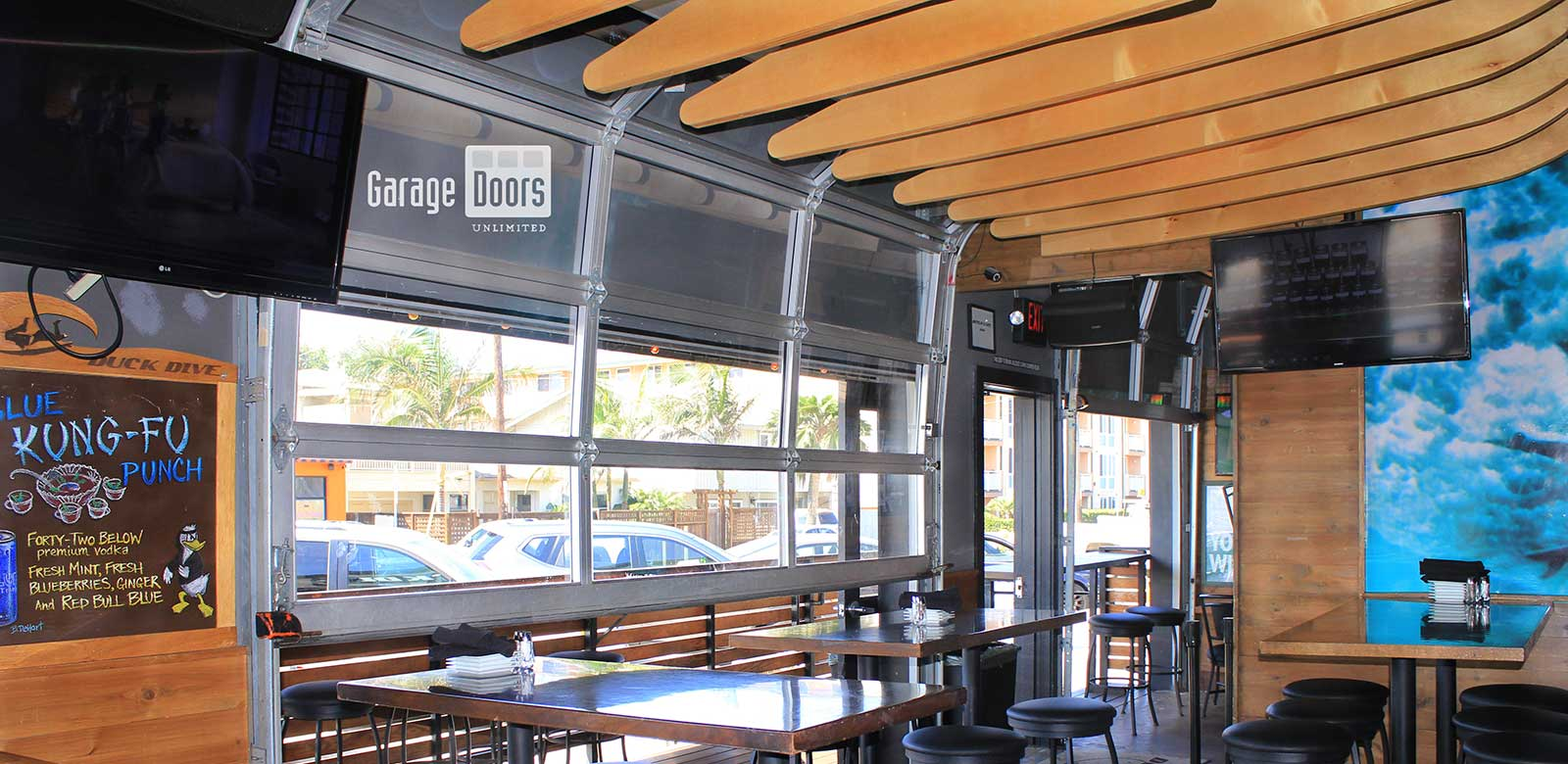 Garage Bar Grill Bar Restaurant Doors Garage Doors Unlimited Gdu Garage Doors