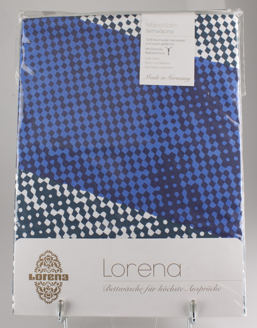 Lorena 7961 2 Sea Pearl Bettwäsche Garnitur Maco Satin 135 200