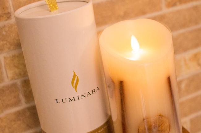 LEDキャンドル ルミナラ ボタニカル