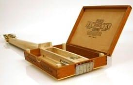 Ultimate Recycling Building The Cigar Box Guitar Gear Vault