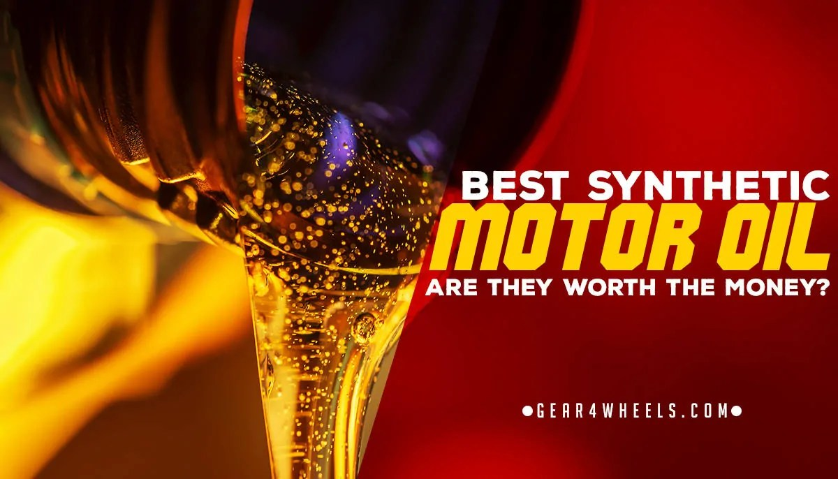 Syn Oil Best Synthetic Motor Oil 2018 Reviews Are They Worth The Money