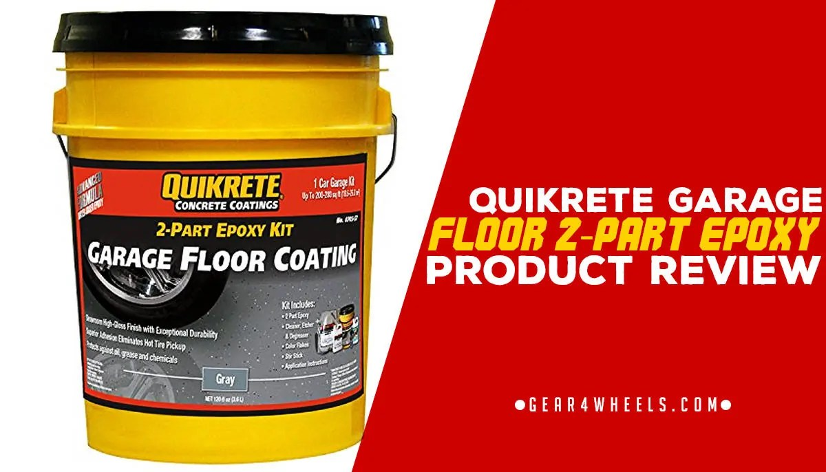 Garage Floor Epoxy Kit Reviews Quikrete Garage Floor 2 Part Epoxy Review Gear4wheels
