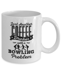 Coffee mug bowl - Just Another Coffee Drinker With a ...