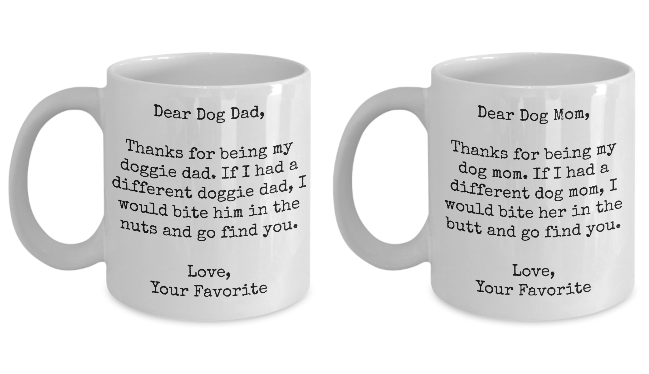 Gift For New Homeowner Woman Dog Dad Mom Mug Set Puppy Lover Owner Gift Pet Cute Funny