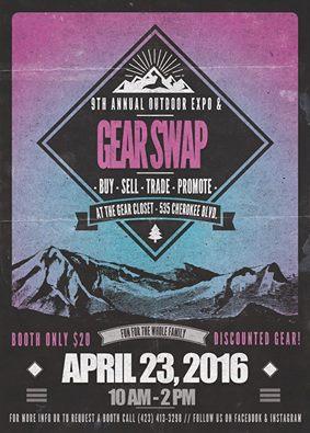 9th annual gear swap Gear Closet