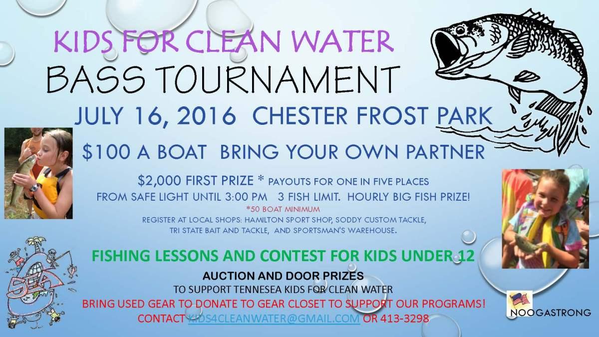fishing tournament flyer