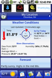 Gear Diary WeatherBug for Android Review photo