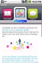 Gear Diary Review: Sherpa for Android OS photo