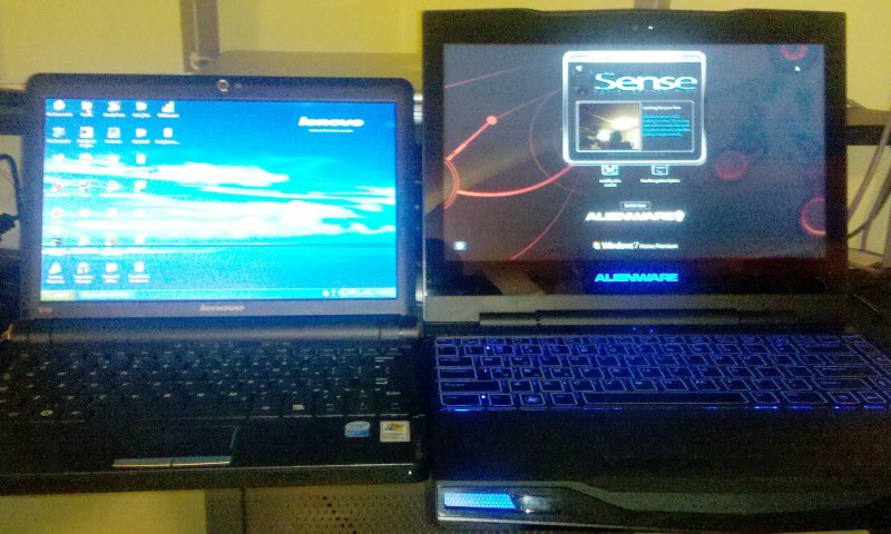 Alienware m11x Netbook Compare