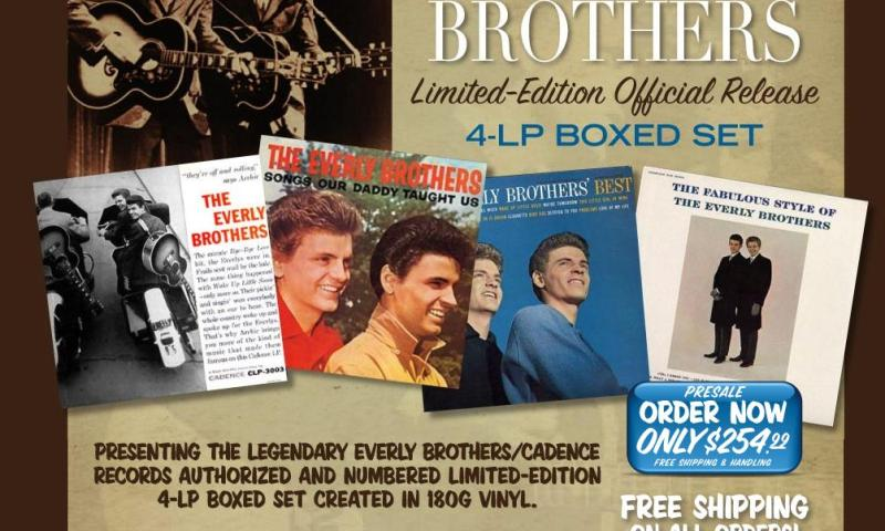 Everly Brothers LP Box Set