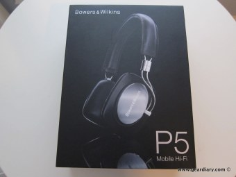 Gear Diary The Bowsers & Wilkins P5 Mobile Hi Fi Headphones Review photo