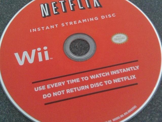Wii Netflix Disc