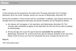 No iTunes App Store Updates
