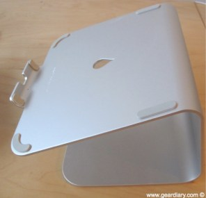 Gear Diary MacBook Accessory Review  Rain Design mStand for MacBook photo