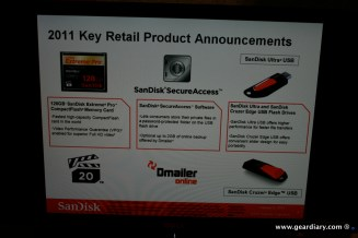 Gear Diary CES: SanDisk Meeting photo