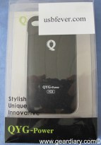 Gear Diary iPhone Accessory Review: QYG Power iPhone 4 Power Pack from USB Fever photo
