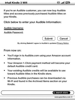 Gear Diary Amazon Now Offering Wireless Delivery of Audible Audiobooks Via WiFi photo