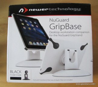 Gear Diary iPad Accessory Review: Newer Technology NuGuard GripStand/GripBase photo