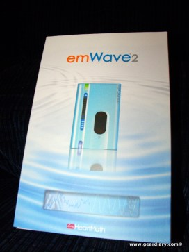 Gear Diary Review: emWave 2 Portable Stress Relief Device photo