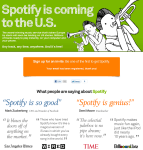 Spotify Invite Signup