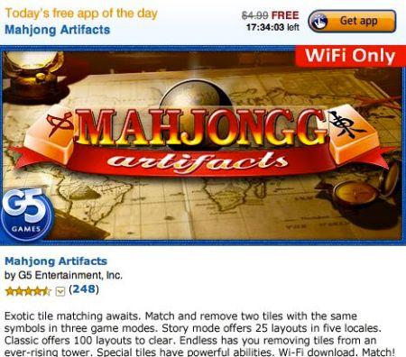 Marjongg Artifacts Free1