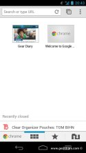 Gear Diary Google Finally Releases Chrome (Beta) for Android photo