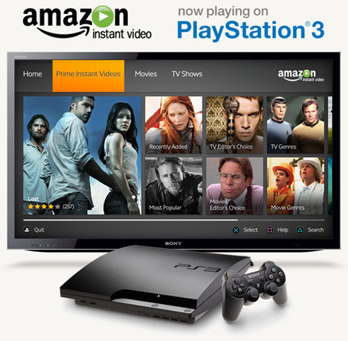 Amazon Prime Video on PS3