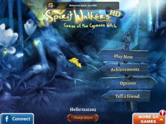 Gear Diary Spirit Walkers Curse of the Cypress Witch for iPad Review photo