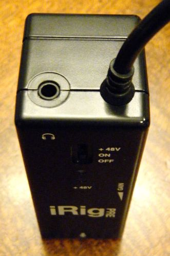 iRig Pre Hands-On4