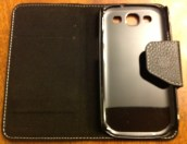 Gear Diary Aranez Book Samsung Galaxy S3 Leather Case Review photo