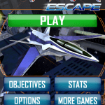 Zaxxon Escape Menu