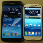 Galaxy SIII vs Note II