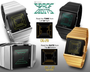 Gear Diary The Tokyoflash Kisai Space Digits Watch Could just be the Perfect Jedi Stocking Stuffer photo