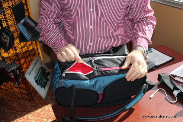 Most ever bag has a spot for thr trifecta- laptop, tablet and phone.