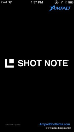 Shot Note Pad