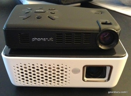 PhoneSuit Lightplay Media Projector with Android