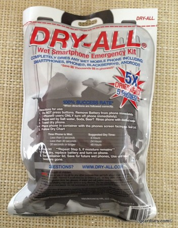 DRY-ALL Wet Smartphone Emergency Kit