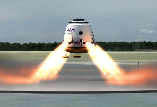 Space X  Dragon 2