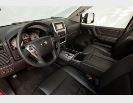 2013 Nissan Titan Pickup is Upgraded 'Status Quo'