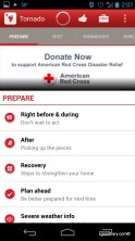 Gear Diary Tornado   an American Red Cross App for Android Review photo