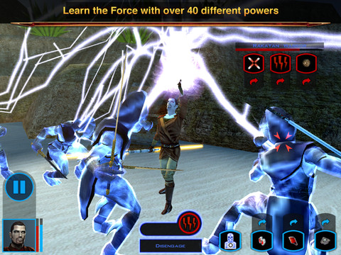 Stars Wars Knights of Old Republic iPad 02